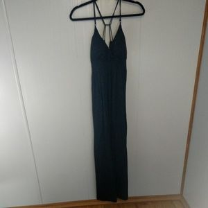 Currants Black Maxi Dress Size Large